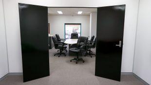 Board room at Tasty Studios, a custom built film studio